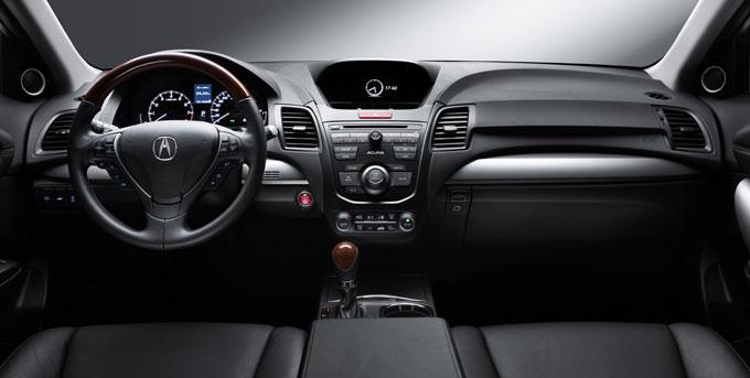 Acura MDX 2014 - салон (интерьер)