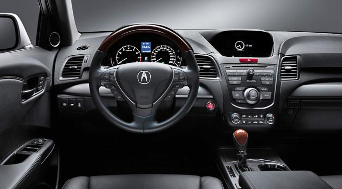 Acura RDX 2013 - салон (интерьер)