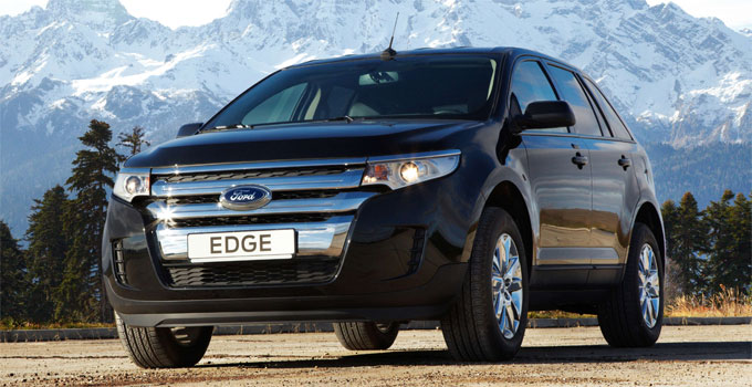 Среднеразмерный кроссовер Ford Edge – начало приема заказов в России