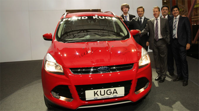 Начало производства Ford Kuga по технологии полного цикла в Елабуге.