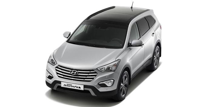 Hyundai Grand Santa Fe в продаже в России с яноваря 2014 г.