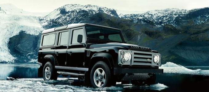 Land Rover Defender Rockwall - лимитированная серия из 30 автомобилей для России - в ноябре 2013 г.