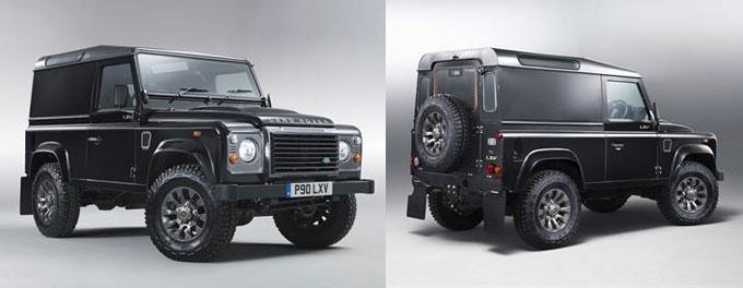 Лимитированная юбилейная серия Land Rover Defender LXV