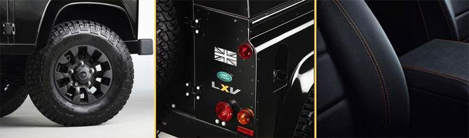 Детали внешнего вида  Land Rover Defender LXV