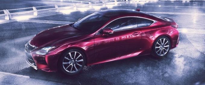 Новый Lexus RC - 4-хместное спорт-купе.