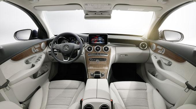Интерьер (салон) Mercedes-Benz C class 2014