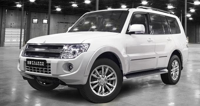 Mitsubishi Pajero Shogun - начало продаж в России