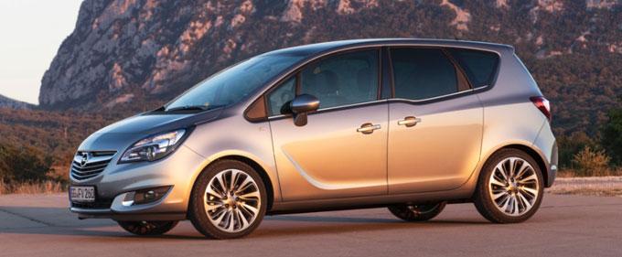 Обновленный Opel Meriva MCE new 2014