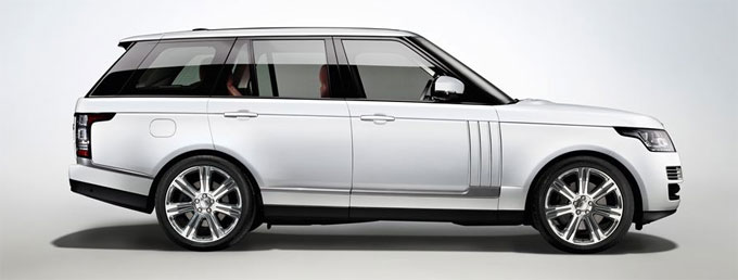 Новый Range Rover long 2015 с удлиненной колесной базой