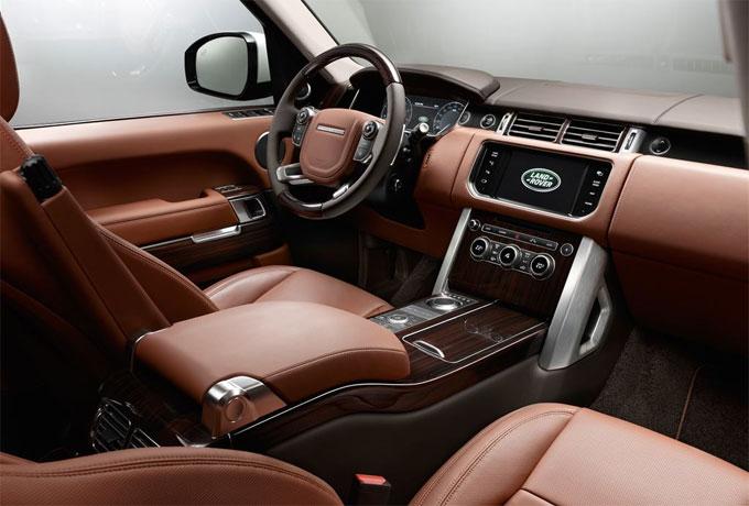 Интерьер (салон) Range Rover Autobigraphy Black Long 2015 с длинной колесной базой