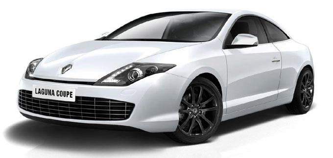 Обновленная Renault Laguna Coupe 2013