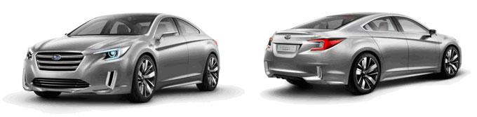 Subaru Legacy Concept - праобраз нового поколения Субару Легаси
