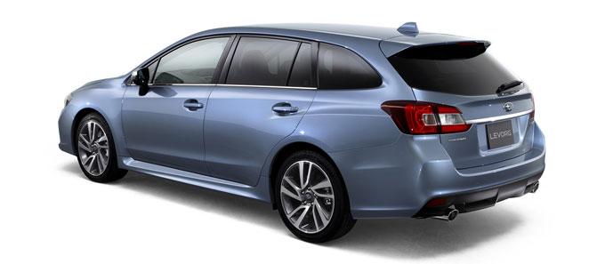 Subaru Levorg 2014 - вид сзади