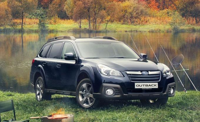 Обновленный Subaru Outback 2014 - начало продаж в России. Цена.