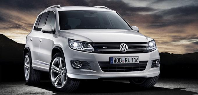 Volkswagen Tiguan в комплектации R-Line – экстерьер.