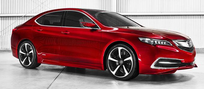 Acura TLX prototype 2014