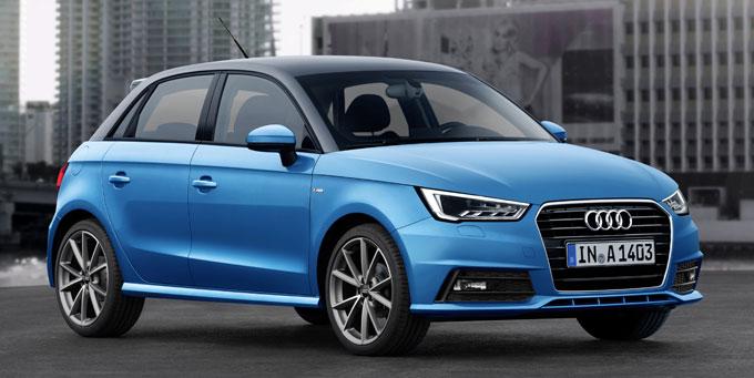 Обновленный Audi A1 Sportback 2015