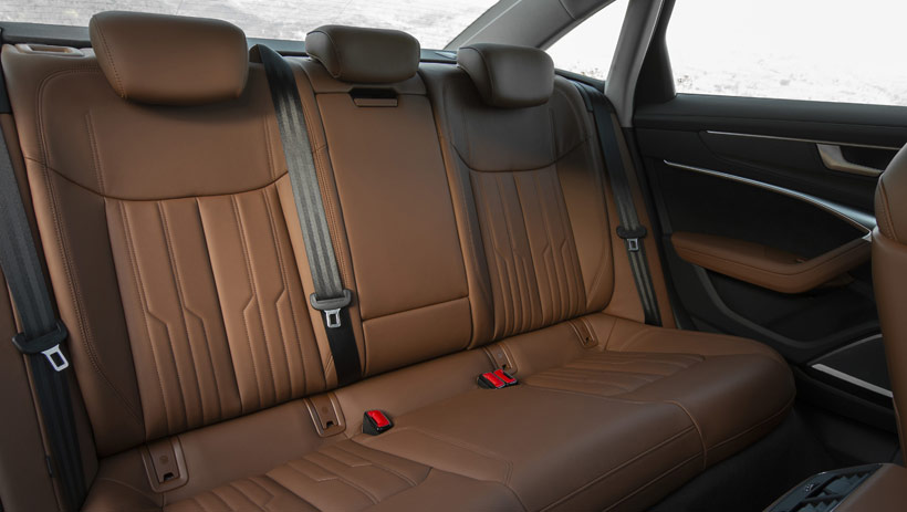 Интерьер салона Audi A6 2019 - кожа