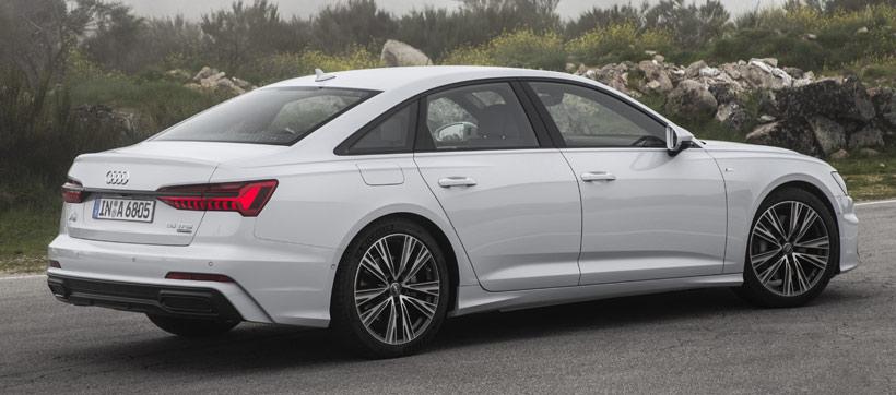 Audi A6 55 TFSI quattro 2019 сзади