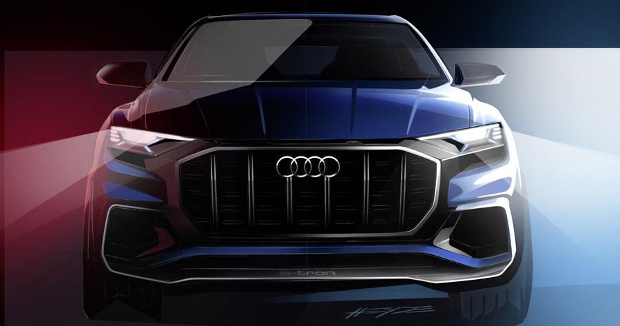 Концепт Audi Q8 - 2017