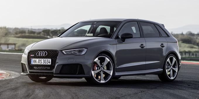 Audi RS 3 Sportback (367 л.с.) - начало продаж в России. Цена.