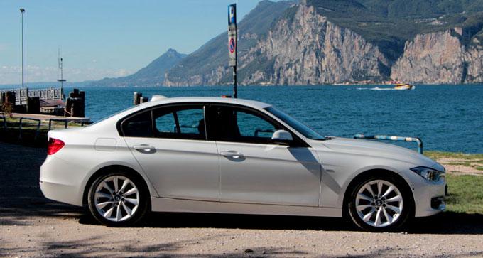 BMW 328i 2012 - тест-драйв озеро Гарда