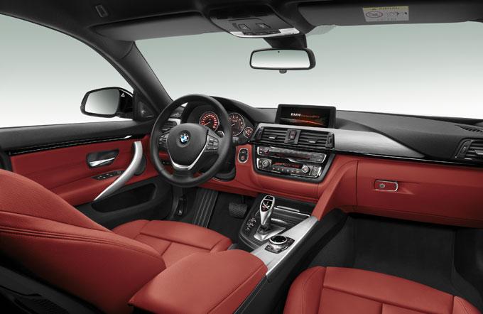 Интерьер (салон) BMW 4 серии Грaн Купе 2014