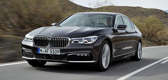 BMW 7 series 2016 - начало продаж в России