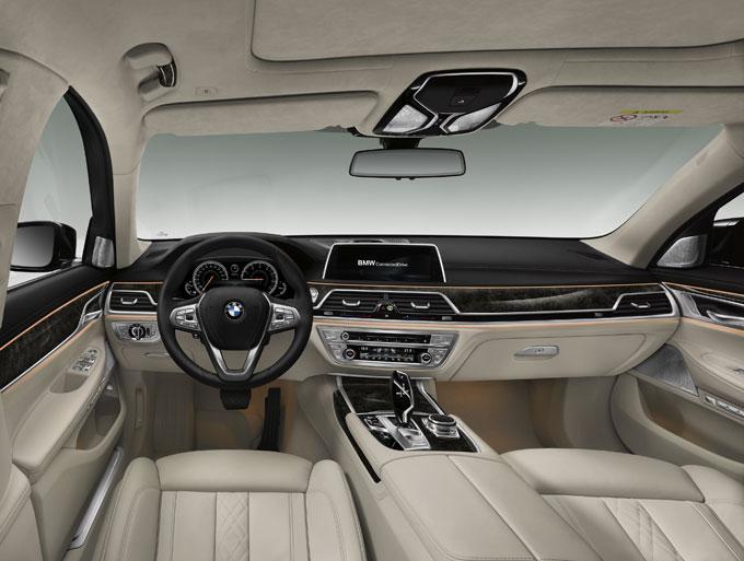 Интерьер (салон) BMW 7 series 2016