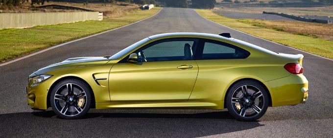 BMW M4 Coupe 2014 - Austin Yellow Metallic