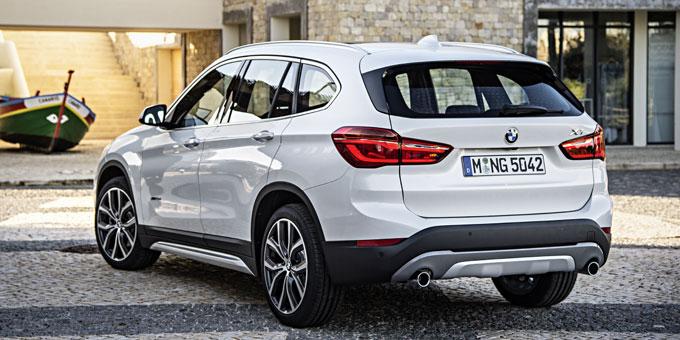 BMW X1 (2 поколение) 2015 сзади