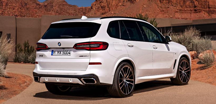 BMW X5 2019 сзади
