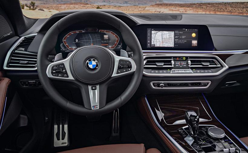 Интерьер BMW X5 2019