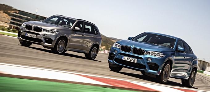 BMW X5M и BMW X6M 2014 - обзор производителя