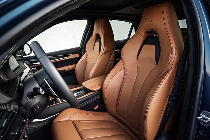 Сиденья BMW X5M и BMW X6M 2014