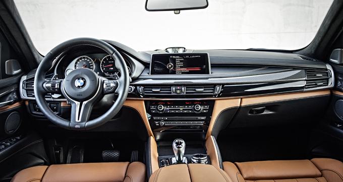 Интерьер (салон) BMW X5M и BMW X6M 2014