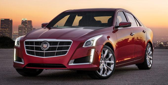 Cadillac CTS седан 2014 - начало продаж в России. Цена.