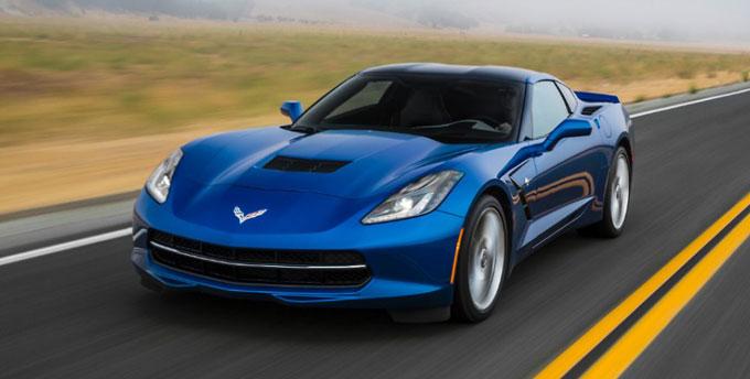 Chevrolet Corvette Stingray 2014 - синий