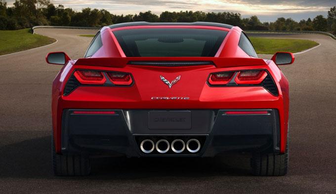 Chevrolet Corvette Stingray 2014 - сзади