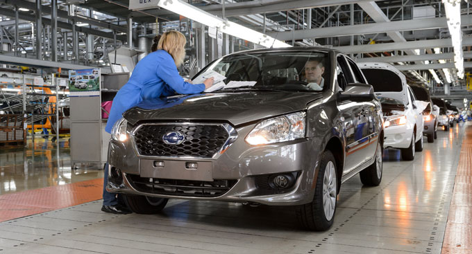 Начало производства Datsun on-DO на Автовазе