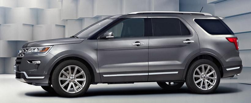 Обновленный Форд Эксплорер 2018 - комплектации и цены