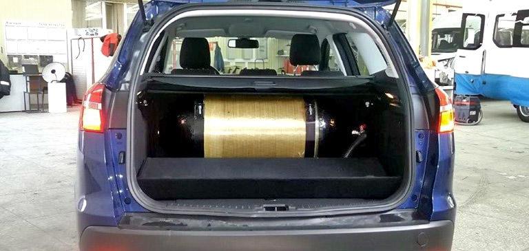 Ford Focus CNG с предустановленным газобалонным оборудованием