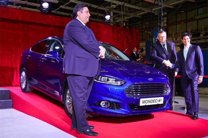 Форд Мондео 2015 - начало производства во Всеволжске