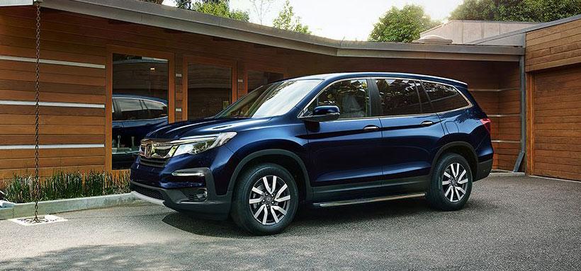 Обновленный Honda Pilot 2019 модельного года готовится к запуску в России.