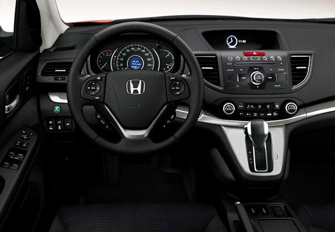 Honda CR-V 2013 - интерьер (салон)