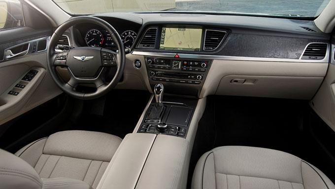 Интерьер (салон) Hyundai Genesis 2015