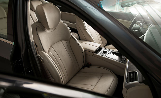 Hyundai Genesis передние сиденья