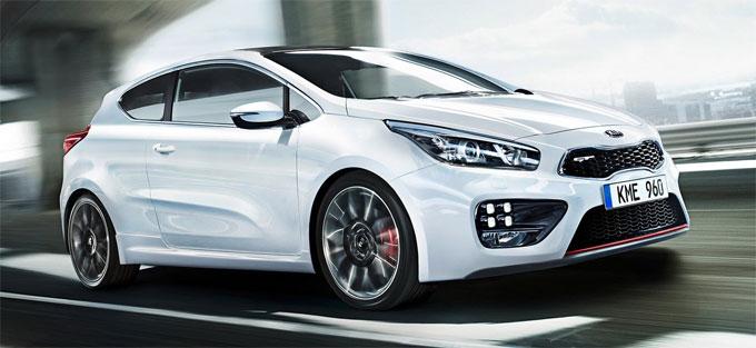 KIA cee'd GT - начало продаж в России