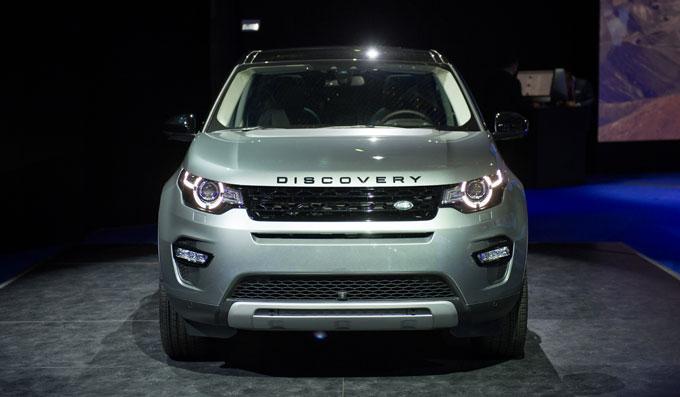 Новый Land Rover Discovery Sport 2015 - начало пролад в России.