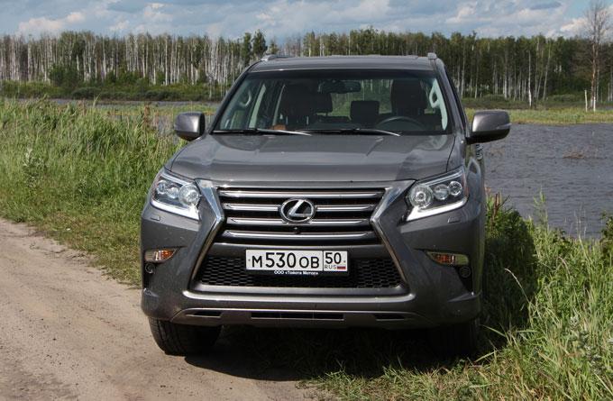 Тест-драйв Lexus GX 460 2014 в Москве